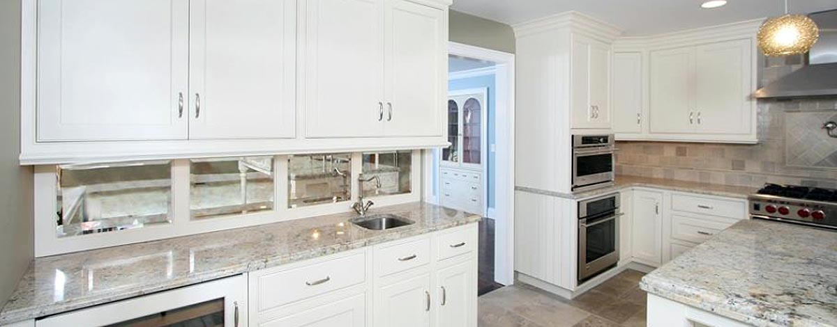 custom kitchen inlay cabinets